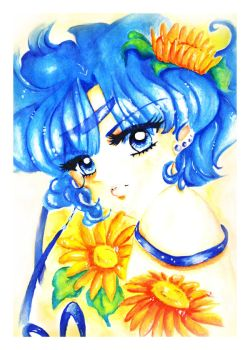Sailor Mercury by Simbenia