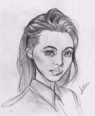 Jessica Henwick by FishboneArt