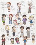 City Chibis by GryGirl8