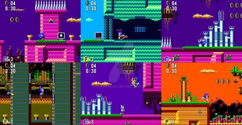 Collision Chaos (Sonic 1 Master System Version) by Chacanger