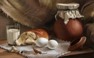 Still Life 003 - Glass is tricky to paint by goodsirxv