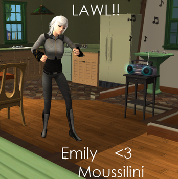 Emily Moussilini by GuyXIce