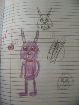 bonnie drawings by minepearl