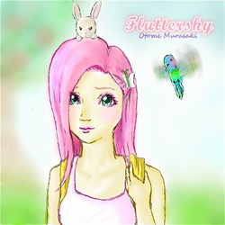 Fluttershy Human Version by OtomeMurasaki