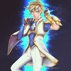 Star Guardian - Ezreal (League of Legends) by shiraishiku