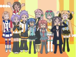 Lucky Star Cos'loids by Ruby-Lily