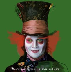 WIP - Johnny Depp as MadHatter by Tingeling13