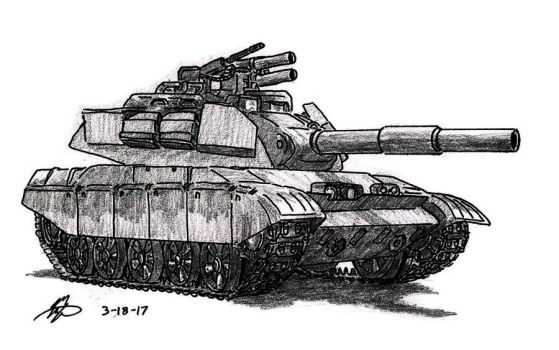 Chimera Tank by TimSlorsky