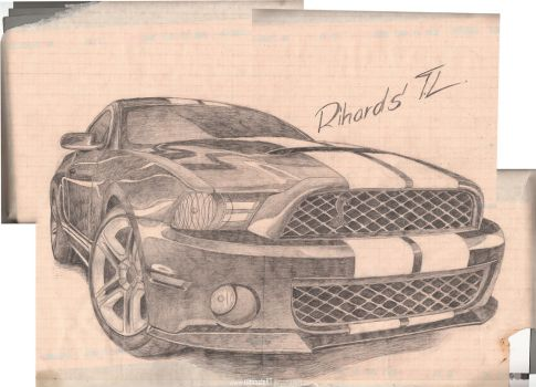 Ford Mustang GT-500 by UltimateRT