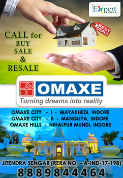 Omaxe City Indore - Expert Realty Indore by expertrealty