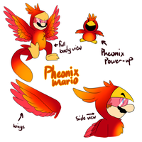 pheonix Power up by BaconBloodFire