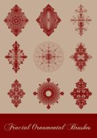 Fractal Ornamental Brushes by GabriellaSperanza