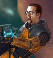 Black Mesa wallpaper_WIP by WillhelmKranz