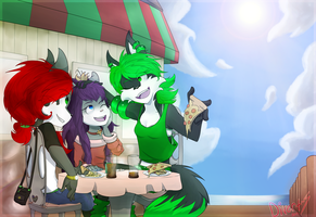Pizza at the Pier by divertspace