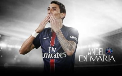 Angel Di Maria Wallpaper 2015 16 PSG By ChrisRamos4GFX On DeviantArt