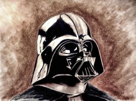 Darth Vader (inked version) by CpointSpoint