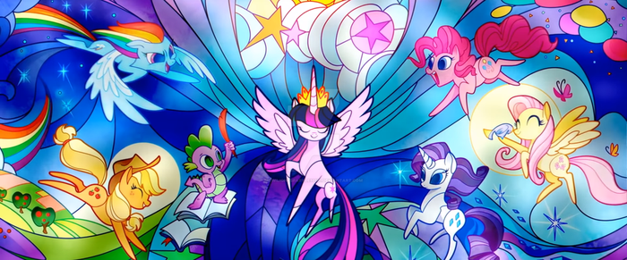 Stained Glass by twilightsparkle10101