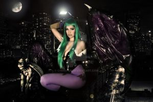 morrigan real life 2 by chrisfkn