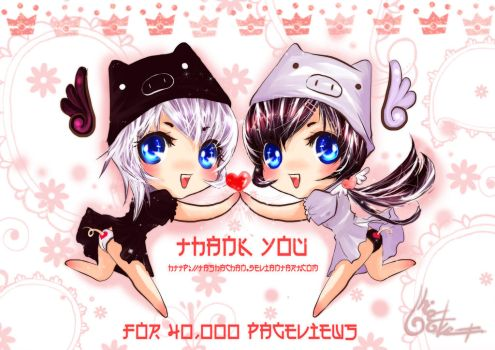 Thanks for 40,000 Pageviews by TashaChan