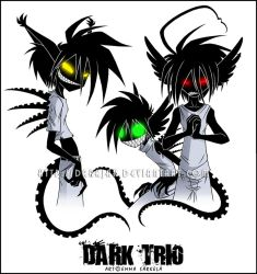 -Dark Trio- by ZombiDJ