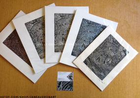 Five Aquatint Prints for Sale by Jane2Audron