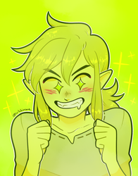 huevember day 29 - link by korekiyos