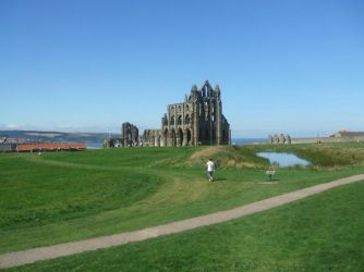 Whitby Abbey Ruins by CHAERG-Major