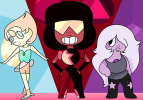 We are the Crystal Gems! by CSOX