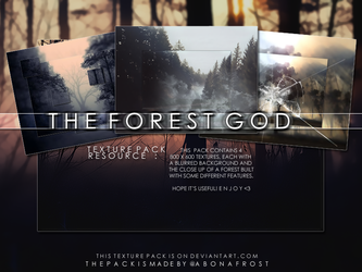 The Forest God Texture Pack by abonafrost