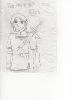 Link Sketch by SmashBrothersClub