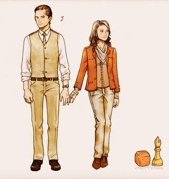 Arthur and Ariadne - INCEPTION by nami64