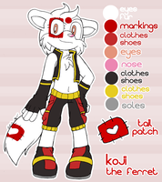 COMM: Koji Reference by MintyStitch