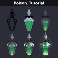 Poison. Tutorial by Anastasia-berry