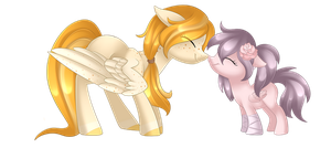 Rosie and Mango [Commission ] by Scarlet-Spectrum