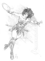 Wonder Woman 02 Small by mikewilsonart