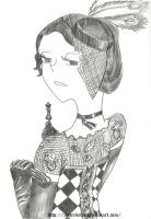 Lady Chess by jesterbells