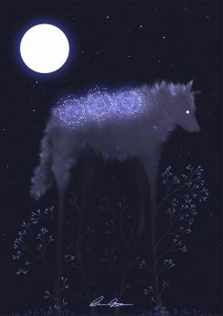 Moony ghost by MarieGrey