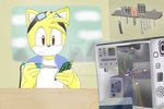 CM Part One for hker021 - Kingston Fixing his PC by HedgeCatDragonix