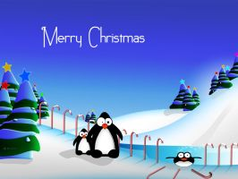 Penguins Christmas Fun Pack by DigitalPhenom