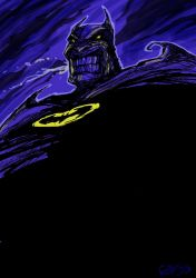 Batman Grimace by m99art