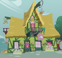 Ponyville Flower Shop - Ponyless by RainbowRage12