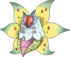 Ramoth new shiny sugimori style by RougeSulfura