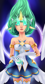 Star Guardian Soraka by InvisibleKing
