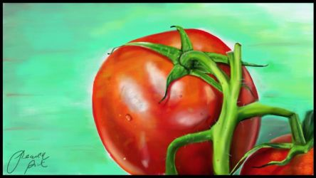 Tomatoes by PinkArtistPeach
