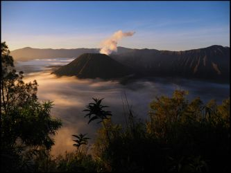 Mount Bromo by Talkingdrum