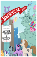 BroNYCon Poster by PterosaurPony