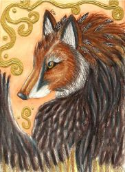 Silent Hunter ACEO by Rianne2k8