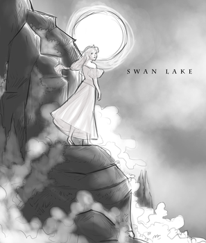 SWAN LAKE - Poster Cover 1 by Domnics
