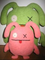 Ugly dolls by ZomgsJulesLolz