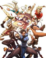 Street Fighter Tribute Cover by UdonCrew